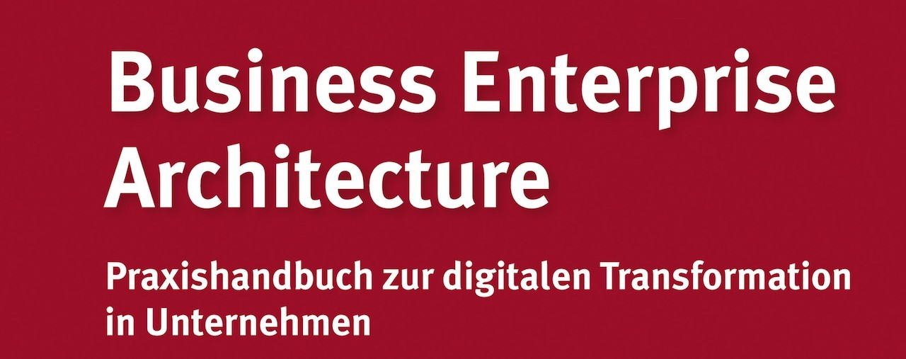 BEA-Buch: Business Enterprise Architecture Buch
